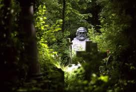 Karl Marx's Grave Highgate London