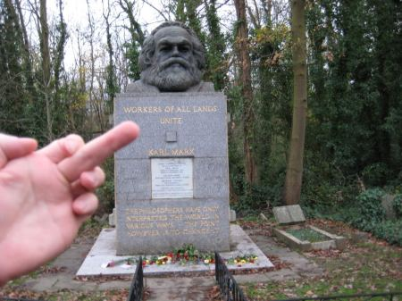 Karl Marx's Grave London