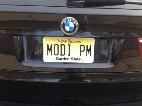 A Modi supporter in NJ!