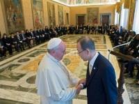 Francis & Ban Ki-moon