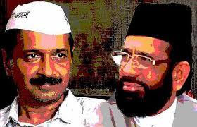 Arvind Kejriwal & Tauqeer Raza Khan