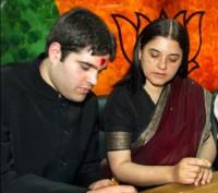 Maneka & Varun Gandhi