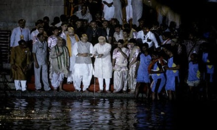 Modi's Ganga Puja