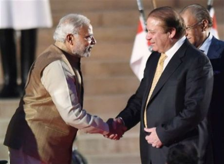 Narendra Modi & Nawaz Sharif