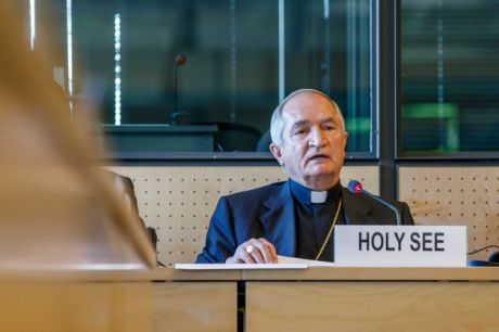 Archbishop Silvano Tomasi, Holy See representative to the UN