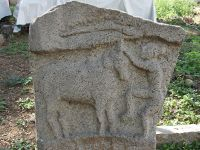 Jallikattu inscription excavated from Peththa Nayakkan Palaiyam, Attur Taluk, Tamil Nadu