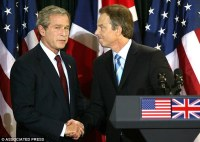 George W. Bush & Tony Blair