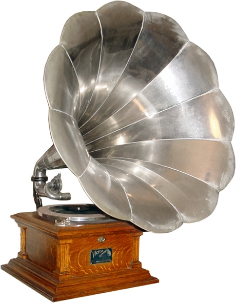 Victor V Disc Phonograph (Gramophone) ca. 1907
