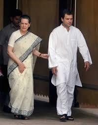 Sonia Gandhi + Rahul Gandhi