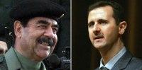 Saddam Hussain & Bashar Assad