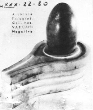 Shiva Lingam in the Vatican Museum