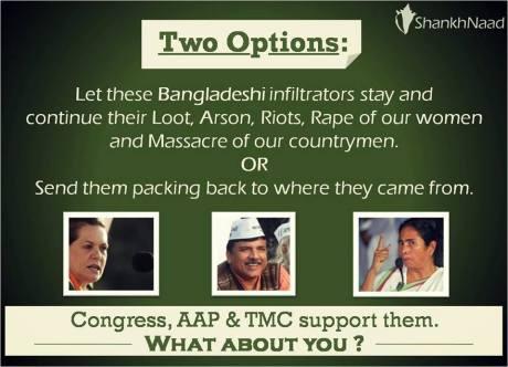 Bangladeshi infiltrators into India