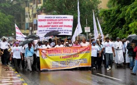 Dalit Christian Demonstration