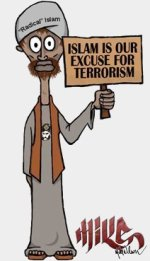 Islam is our excuse for terrorism!