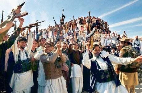 Pakistan tribals for jihad in India