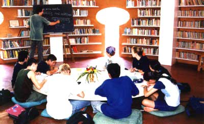 Sanskrit class in Auroville
