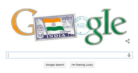 India Independence Day Google Doodle 2014