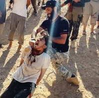 ISIS jihadi beheading in Syria