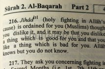 Jihad in the Koran
