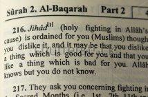 Jihad in the Koran