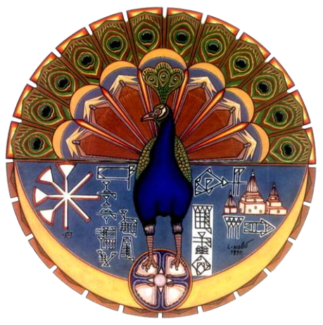 Melek Taus or Peacock Angel