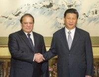 Nawaz Sharif & Xi Jinping
