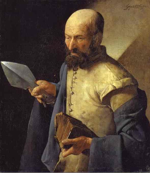 St Thomas by Georges de la Tour (1625-30)