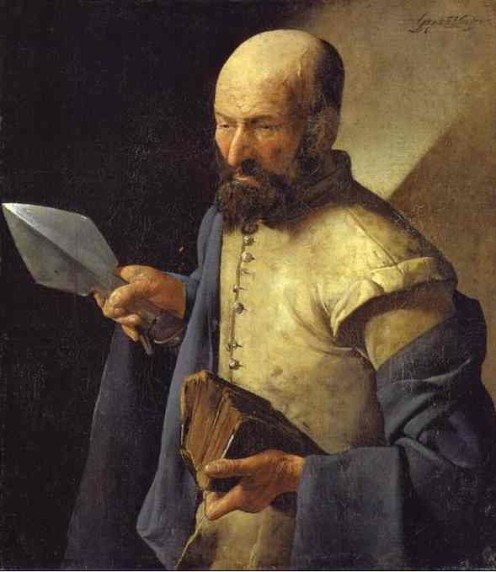 St Thomas by Georges de la Tour (1625-30)