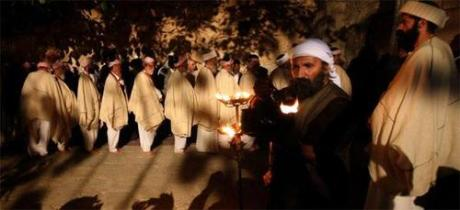 Yazidi Religious Ceremony at Lalish