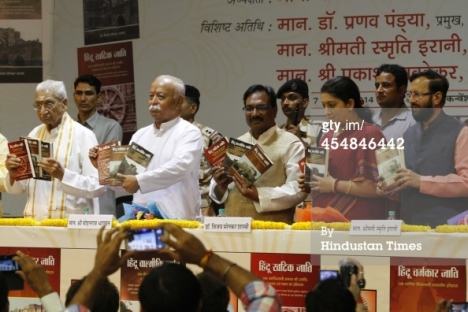 Vijay Sonkar Shastri's book release function at NDMC Convention centre on September 7, 2014 in New Delhi