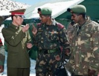 Indian and Chinese Soldiers