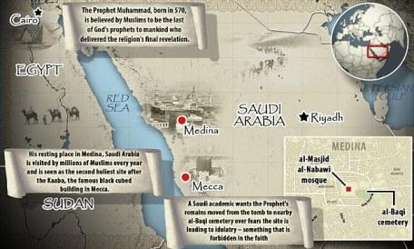 Map of Medina