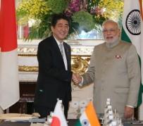 Narendra Modi + Shinzo Abe