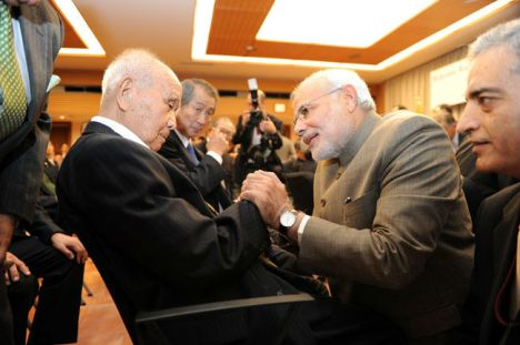 Narendra Modi & Saichiro Misumi