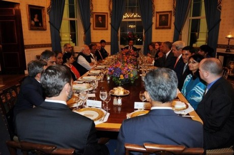 Modi's dinner at the White House