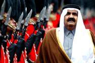 Emir of Qatar Sheikh Hamad Bin Khalifa Al Thani