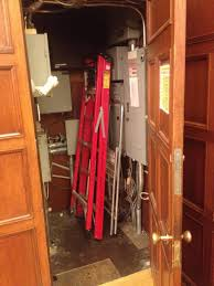 The closet Stephen Harper hid in during attack on Canadian Parliament