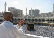 Pilgrim in Mecca