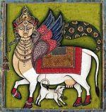 Kamadhenu & Calf