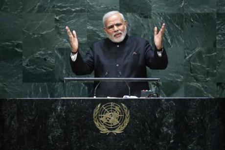 Narendra Modi at the United Nations