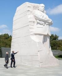 Obama & Modi on the National Mall in Washington