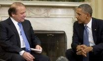 Nawaz Sharif and Barack Obama