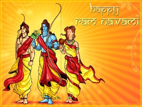 Lakshman, Ram & Sita