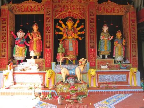Santhal Durga Puja