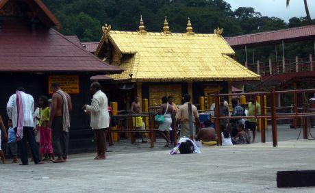 Srikovil at Sabarimala