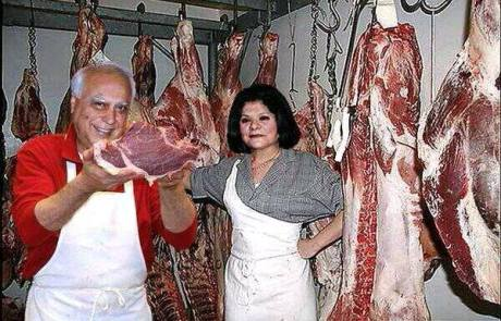 Kapil Sibal & Wife Promilaa