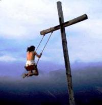 Swinging on the Cross