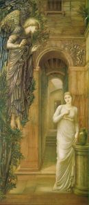 Mary at the wellin Nazareth