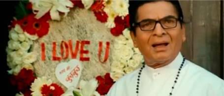Catholic priest in India