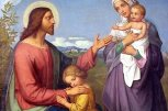 Jesus with wife Mary Magdalene and Kids